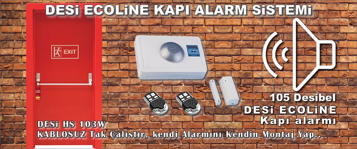 Yangın Kapısı Kablosuz Alarm