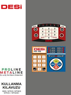 Desi HS 102 Metaline & Proline Kullanım Kılavuzu