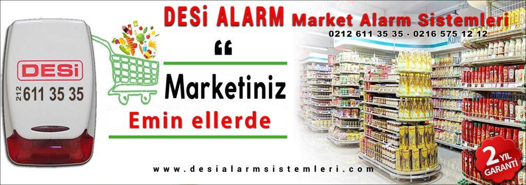 Market ve Bakkal alarm Sistemleri için desi güvenlik sistemlerini seçin