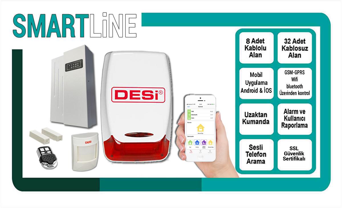 Desi Smartline IOT Alarm