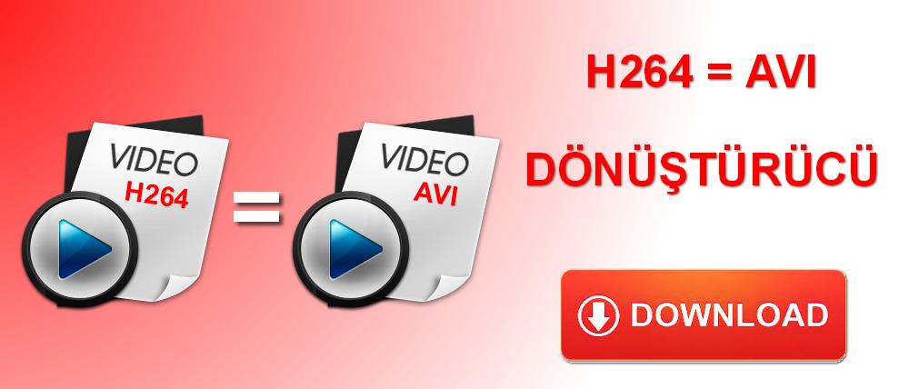 DVR H264 avi çevirici