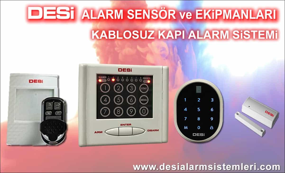 Desi Alarm Sistemi Parçaları