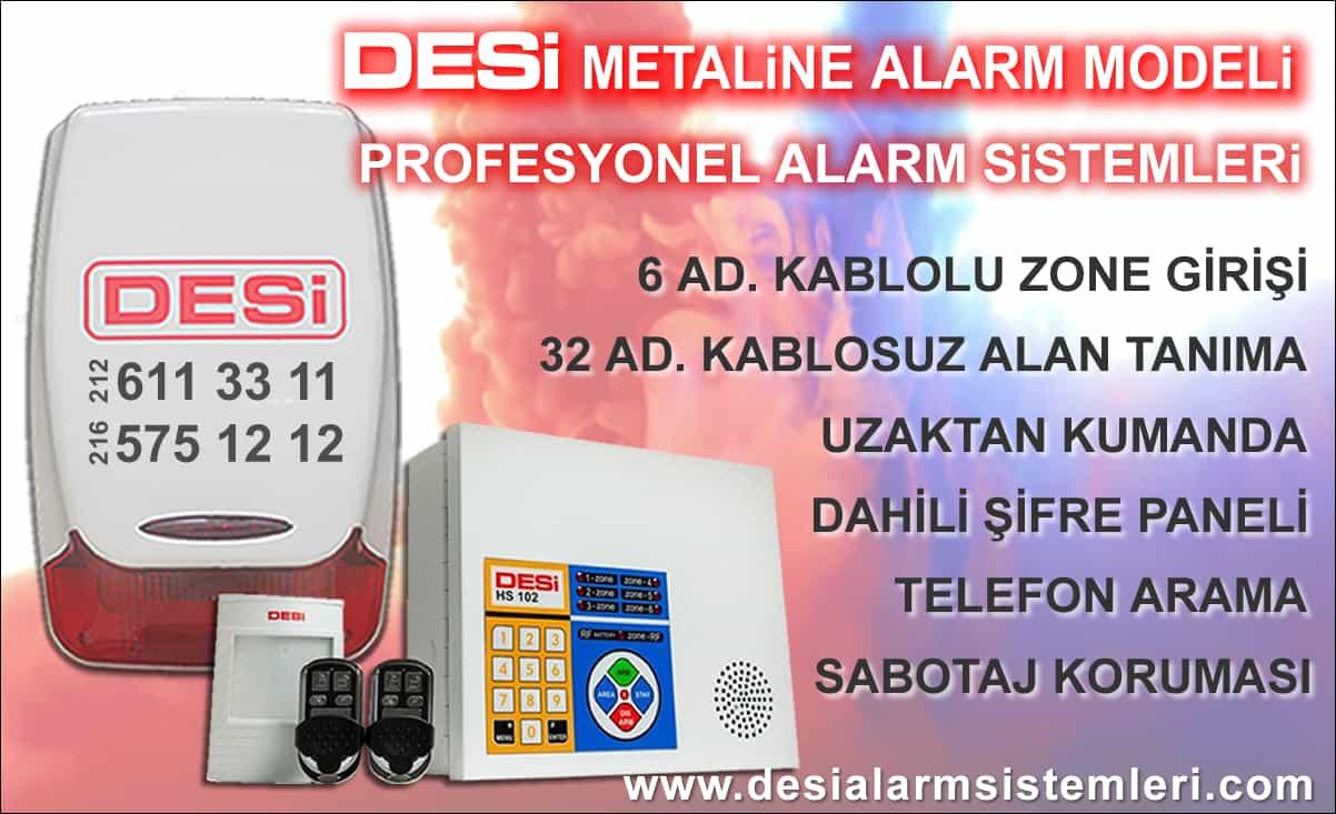 Desi Metaline Ev & İşyeri Alarmları