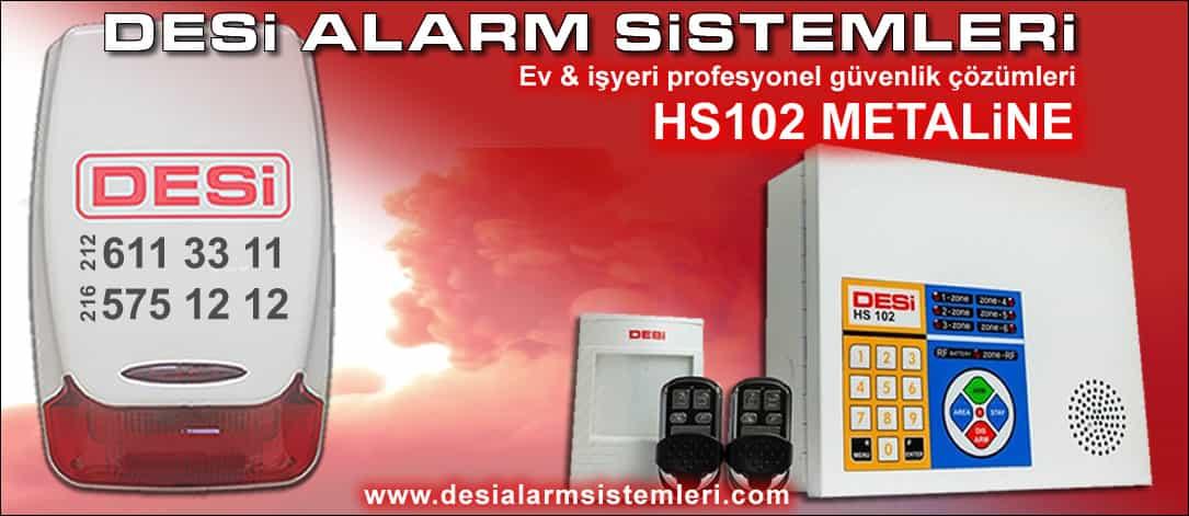 Desi Metaline Alarm Sistemi
