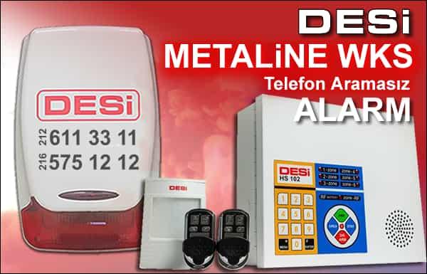 Desi Metaline WKS Alarm