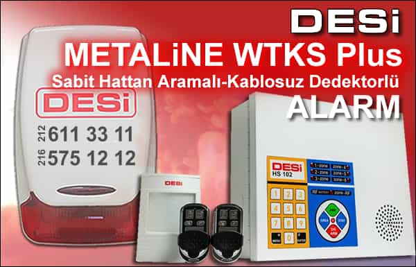Desi Metaline WTKS Plus Alarm
