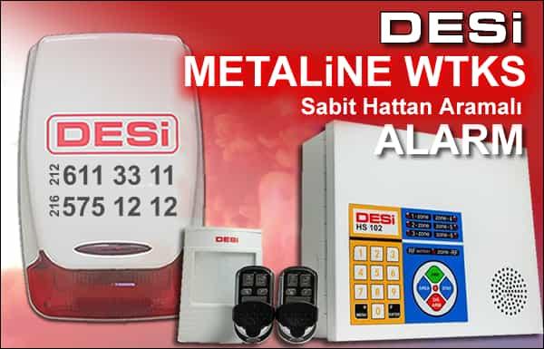 Desi Metaline WTKS Alarm