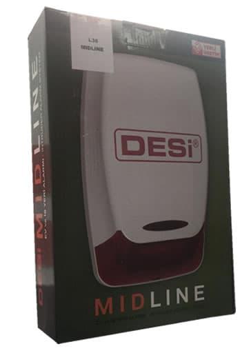 Desi Midline Alarm