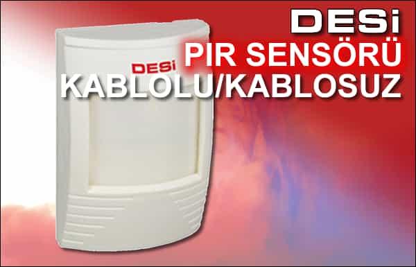 Desi PIR Dedektör Sensör
