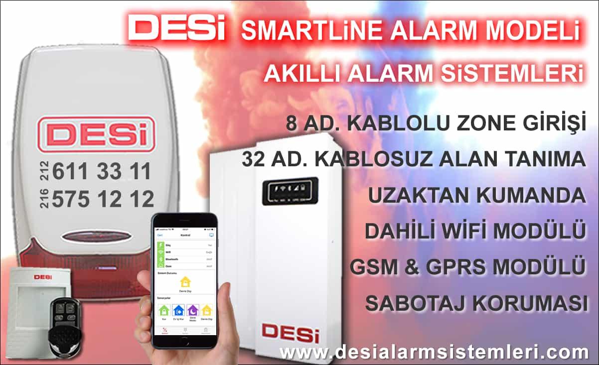 Desi Smartline İOT akıllı Alarm